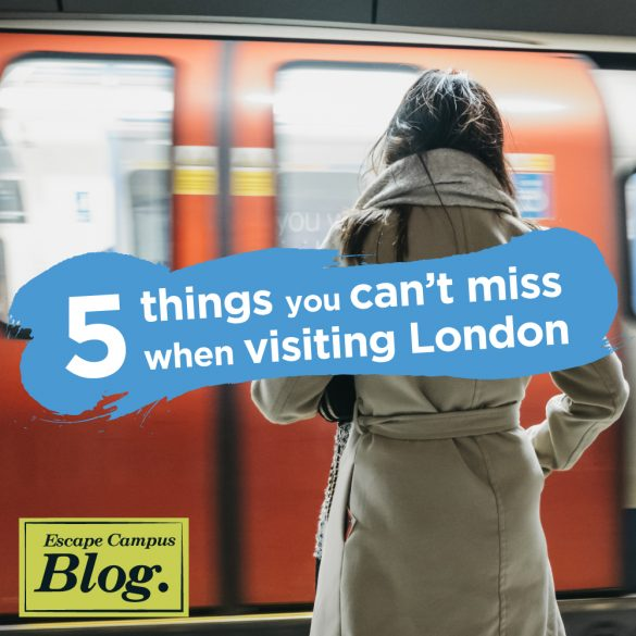 5 things you can't miss visiting London