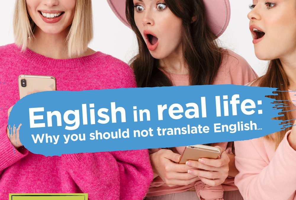 English in real life