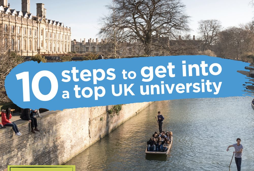 10 steps to study in the UK