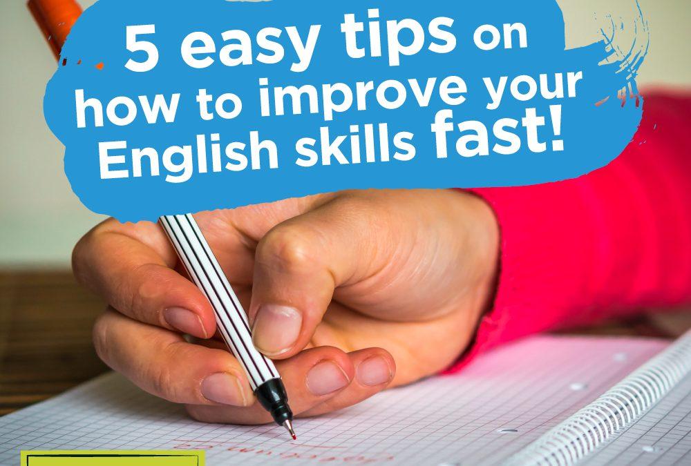 5 Ways to Improve Your English Skills